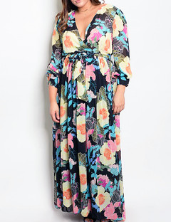 FLOWERED TO THE MAXI