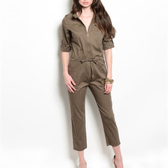 GOING BROWNTOWN ROMPER