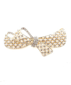 PRETTY PEARLY BARRETTE