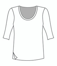 Easy Fit Half Sleeve U Neck (1406H)