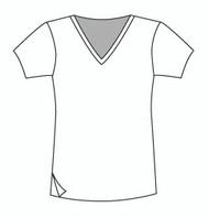 Easy Fit Short Sleeve Vee (1402S)