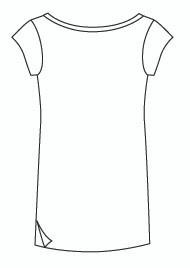 Cap Sleeve Tunic Tee (904C)