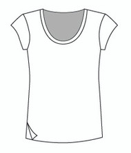 Easy Fit Cap Sleeve U Neck (1406C)