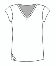 Easy Fit Cap Sleeve Vee (1402C)