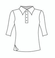 Half Sleeve Polo w/ Side Slit (333H)