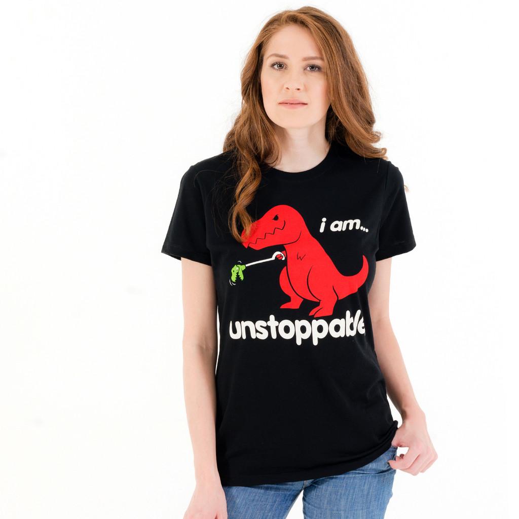 Unstoppable Dinosaur Women's T-Shirt