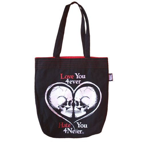 Love You Forever - Periodic Table of Pirates Reversible Tote Bag