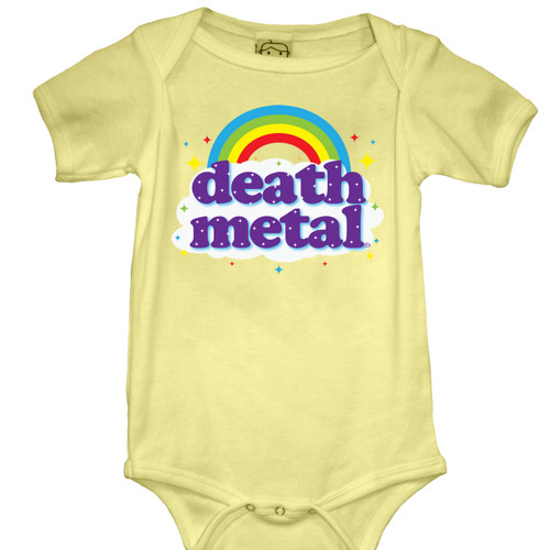 Death Metal Baby Onesie