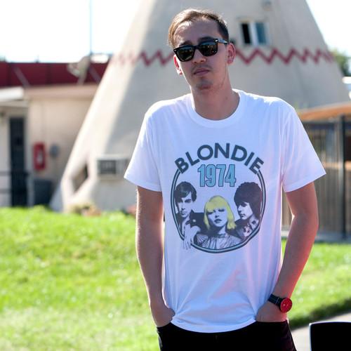 Blondie 1974 Tour Men's T-Shirt