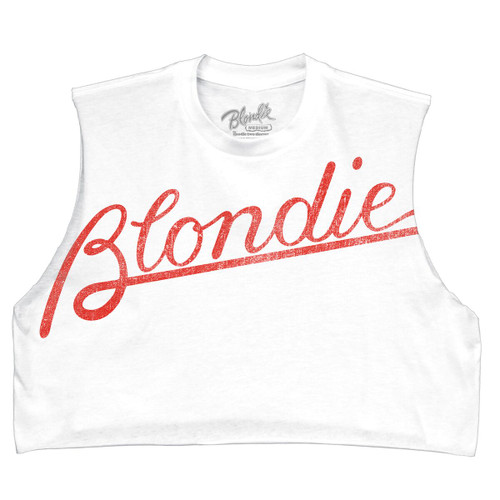 Blondie Logo Women's Crop Top