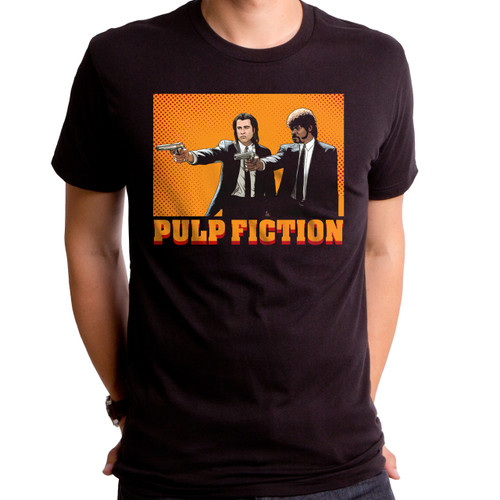 Comic Pulp Fiction Men's T-Shirt