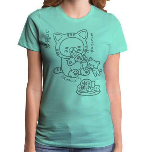 Rilakkuma Yummy Fish Women's T-Shirt
