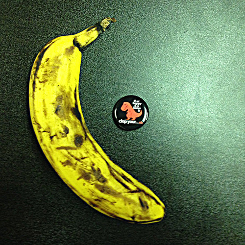 Banana is for scale