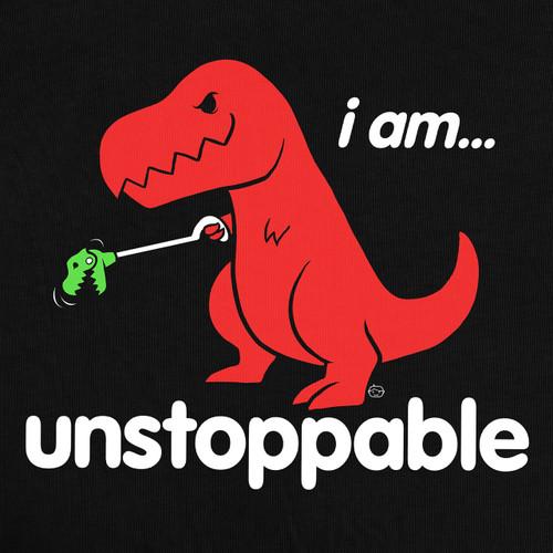 Unstoppable Dinosaur Men's T-Shirt