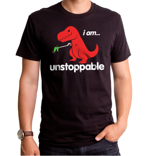 Unstoppable Dinosaur Men's T-Shirt