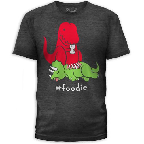 Guys #Foodie Dino T-Shirt