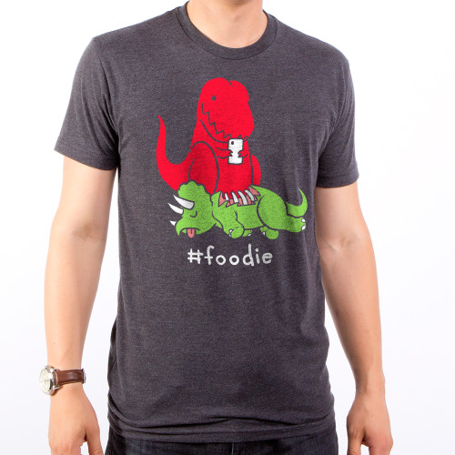 Guys #Foodie Dino T-Shirt