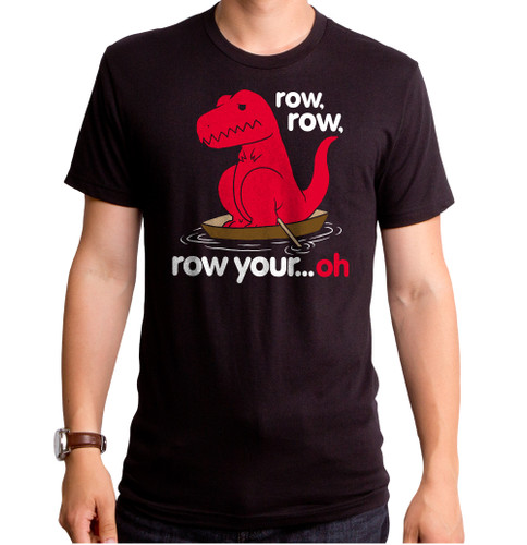 Guys Row Your Oh Sad Dino T-Shirt