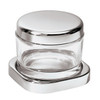 thumbnail image of Sambonet Linear Grated cheese pot with crystal, 3 7/8 inch
