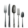 thumbnail image of Twist Black 18/10 Stainless Steel 5 pcs Place Setting, solid handle