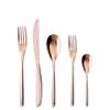 thumbnail image of Sambonet Bamboo Copper 5 pcs Place Setting, solid handle