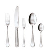 thumbnail image of Perles Silverplated 5 Pcs Place Setting (hollow handle knife)