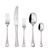 thumbnail image of Queen Anne 18/10 Stainless Steel 5 Pcs Place Setting (solid handle knife)