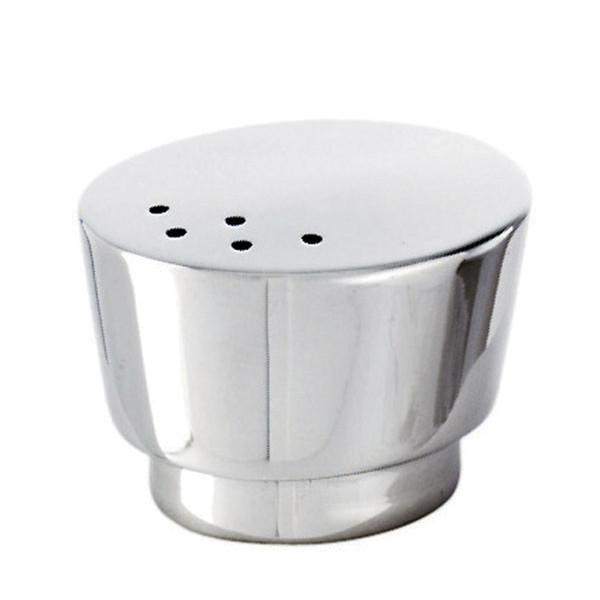 T Light Stainless Steel Salt shaker, small, 1 5/8 x 1 3/8 inch