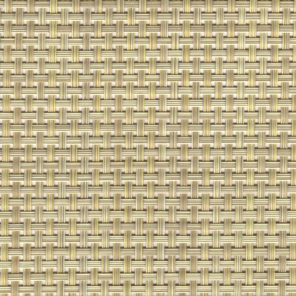 Sambonet Linea Q Table Mats Table mat, beige, 18 7/8 x 14 1/8 inch