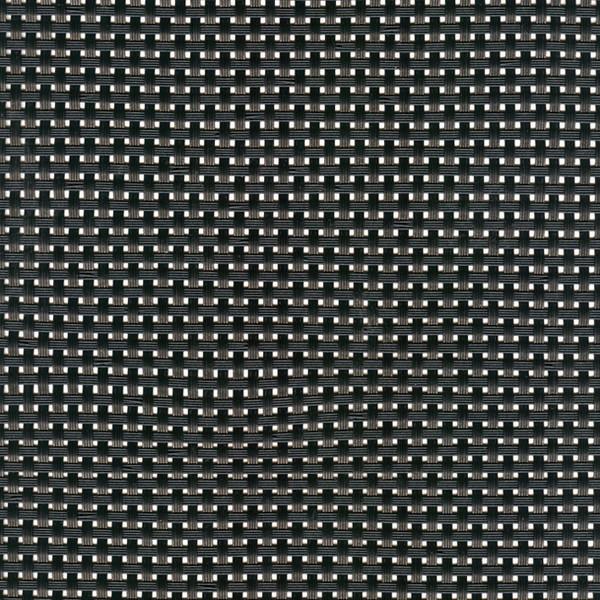 Sambonet Linea Q Table Mats Table mat, black, 18 7/8 x 14 1/8 inch