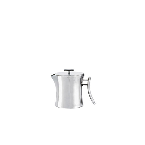 Bamboo Stainless Steel Tea pot, 7 1/8 ounce