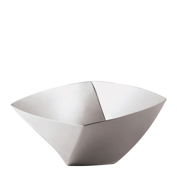 Lucy Stainless Steel Small bowl, 3 3/8 x 3 3/8 inch