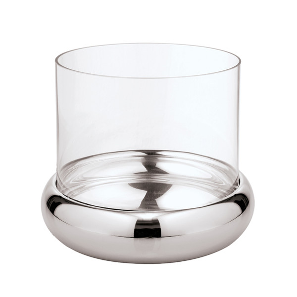 Sphera Stainless Steel Candle holder, 2 pcs, 9 1/2 x 5 1/8 inch