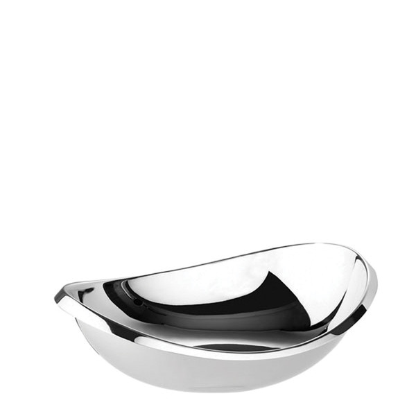 Twist Stainless Steel Oval bowl, 5 1/2 inch