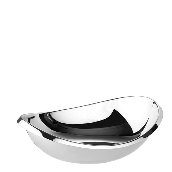Twist Stainless Steel Oval bowl, 7 1/8 inch