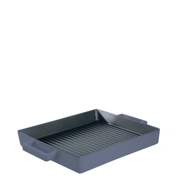 Terra Cotto Cast Iron  Square Grill Pan, Myrtle, 10 1/4 inch