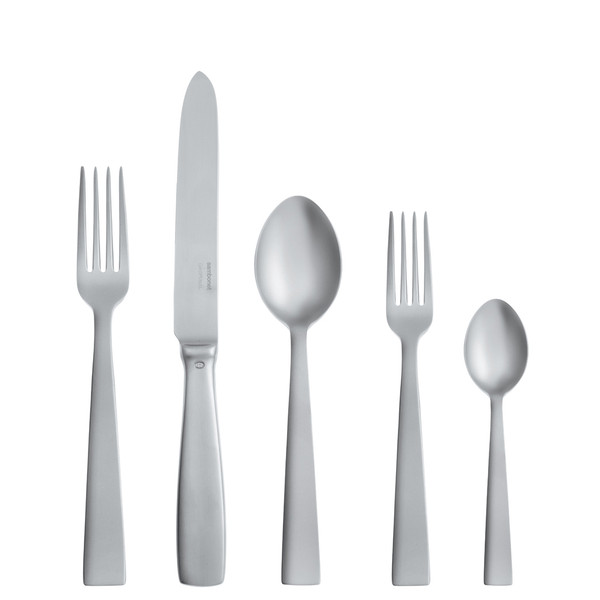 write a review for Gio Ponti Antico 18/10 Stainless Steel 5 pcs Place Setting, solid handle