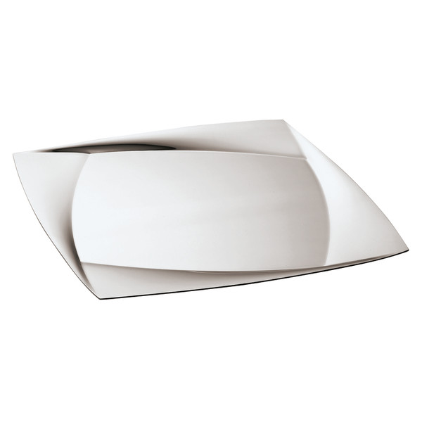 Lucy 18/10 Stainless Steel Show plate, 11 3/4 x 11 3/4 inch