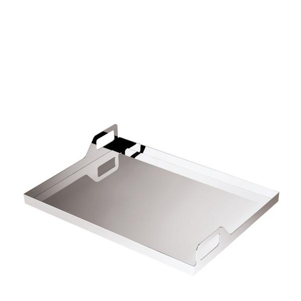 Sambonet Gio Ponti Tray oblong with handles, 15 3/4 x 11 3/4 inch