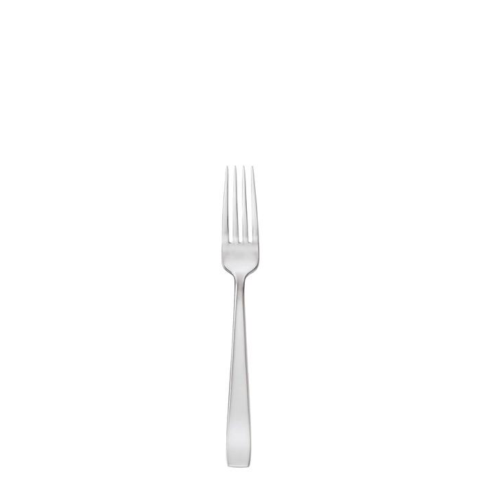 Flat Stainless Steel Dessert Fork, 7 1/8 inch |
