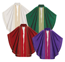 Il Soffio Gothic Chasuble from Maestro Albano Poli Collection
