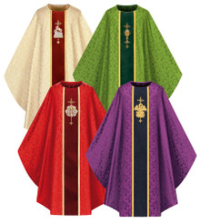 Gothic Chasuble with Handembroidery