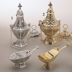 Censer, Boat and Spoon Set 67