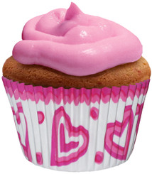 God Is Love Cupcake Paper