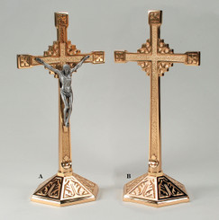 Regal Altar Crucifix or Cross 9942
