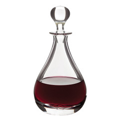 "Glass Flagon, 29oz. 10.5""H"