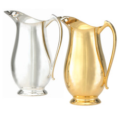 "Metal Flagon, 64oz. 9 7/8""H"