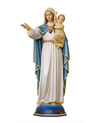 Our Lady with Child Statue 60""