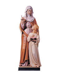 St Anne with Mary Statue
