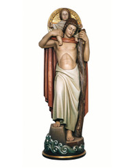 St Christopher with Child Statue